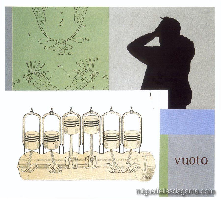 F.C.C., 2003 - Vuoto, Técnica mista sobre tela (150 x 165 cm)