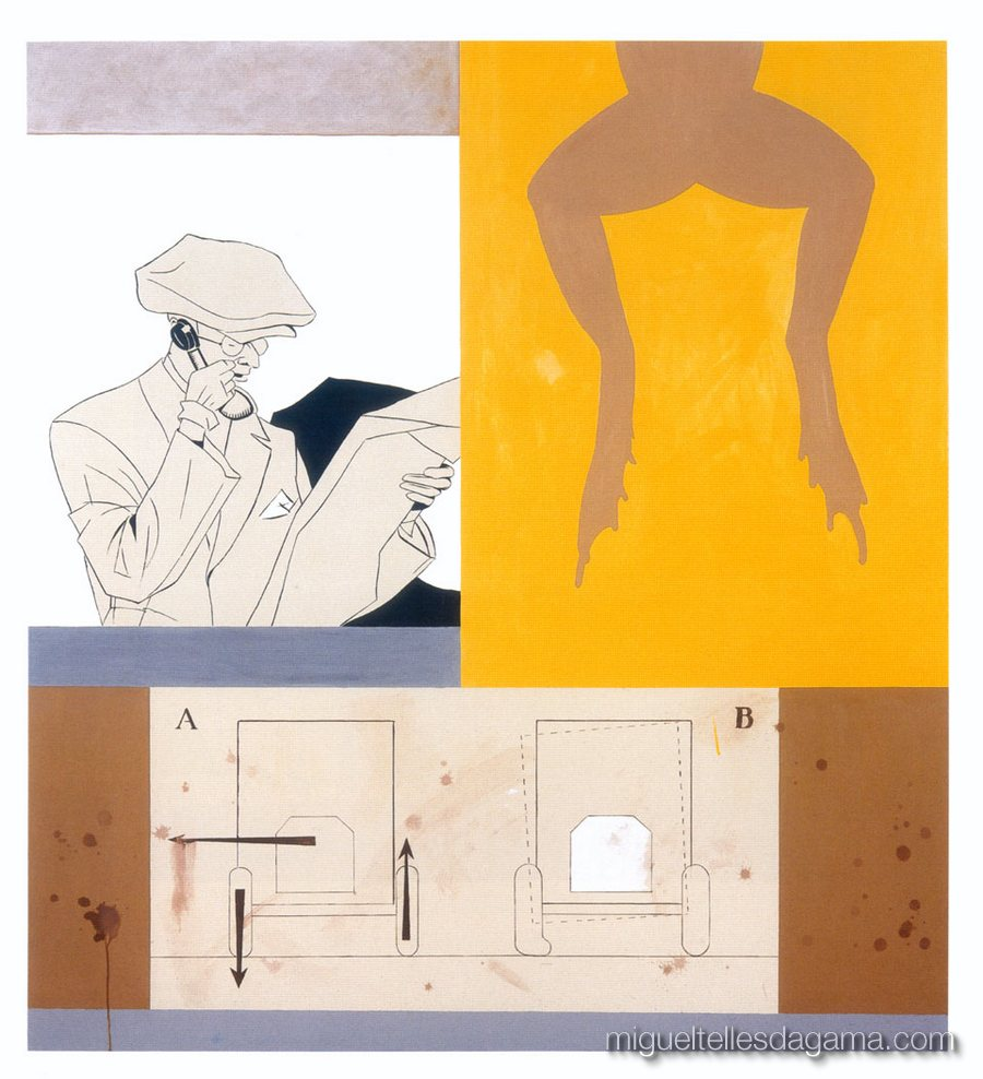 F.C.C., 2003 - Dublin 65, Técnica mista sobre tela (165 x 150 cm)
