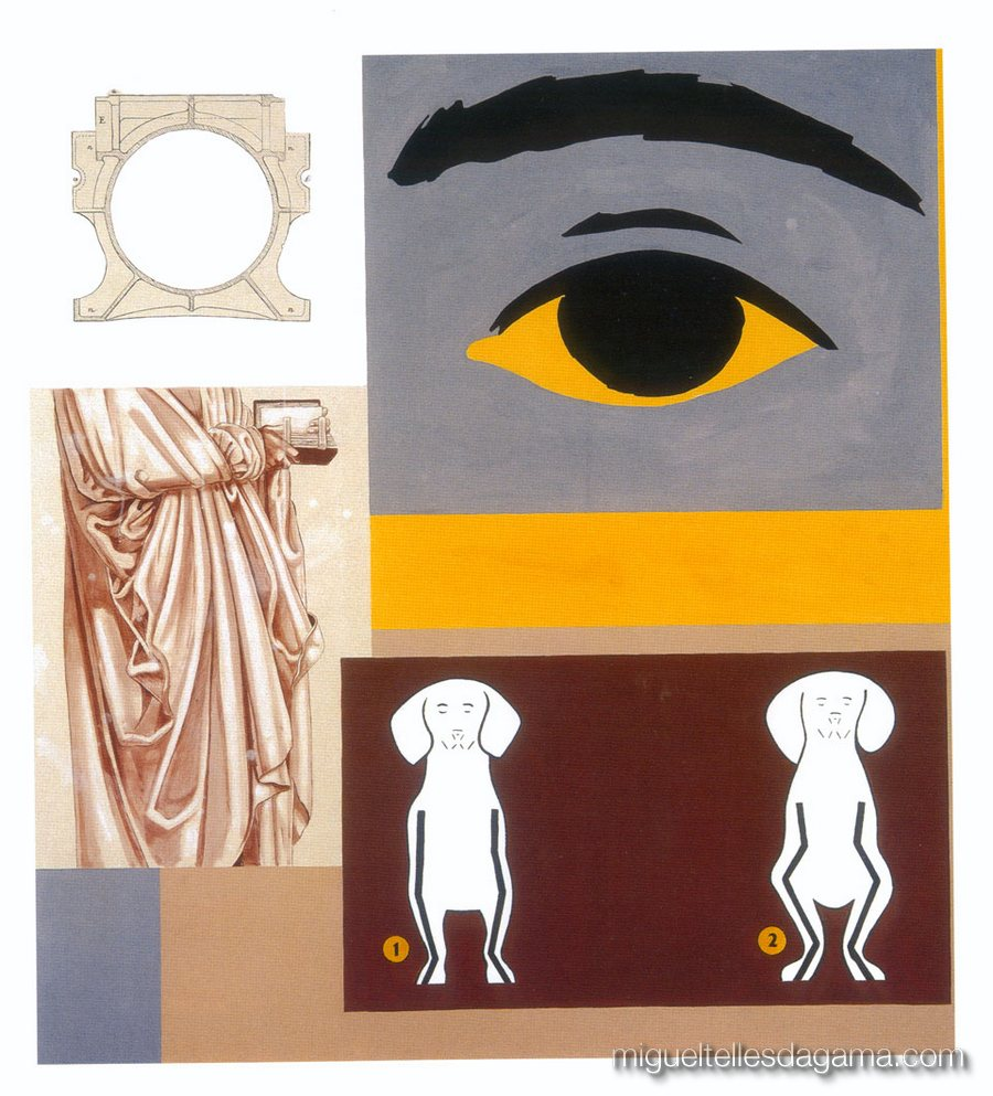 F.C.C., 2003 - Strada, Técnica mista sobre tela (165 x 150 cm)