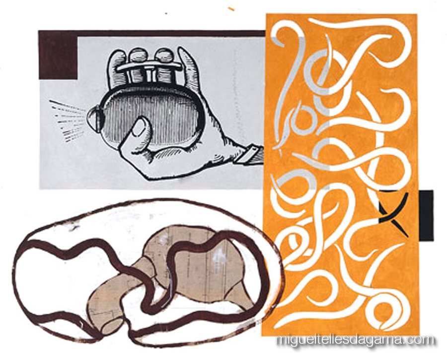 I.IW.AB.M., 2004 - Sharif Don't Like It, Acrílico sobre papel (120 x 150 cm)