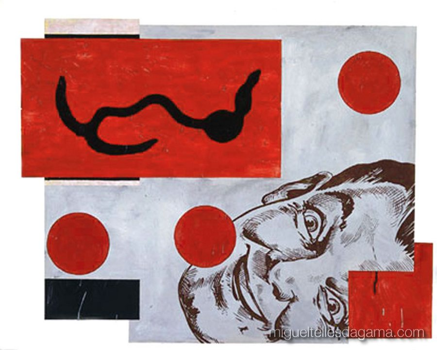If I Was A Blind Man, 2004 - I'm In Heaven, Acrílico sobre papel (120 x 150 cm)