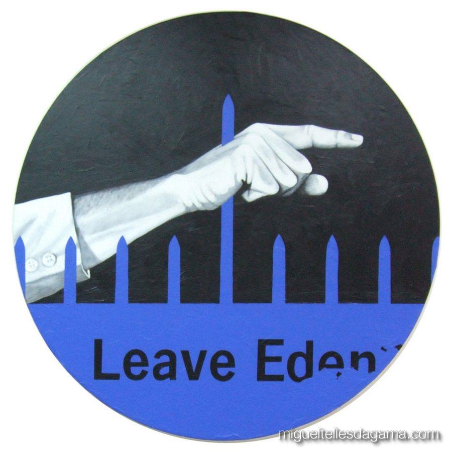 Série Circular, 2007 - Leave Eden, Acrílico sobre tela ()