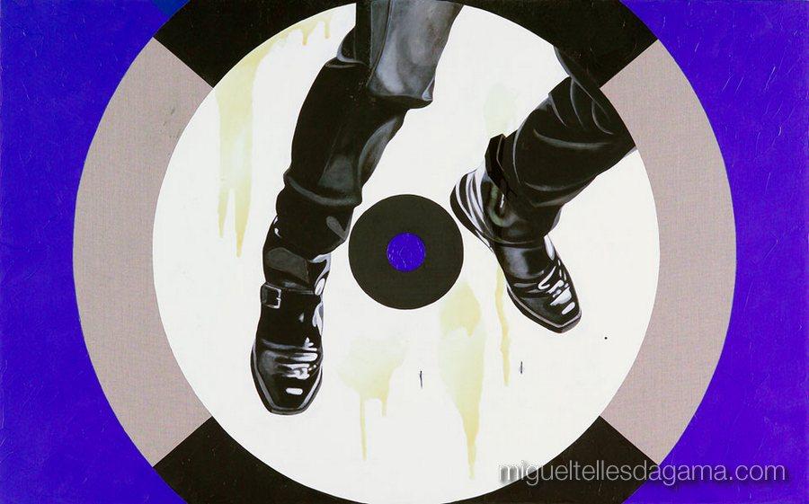 E.R. 2007 - Fall, Acírilico e verniz sobre tela (100 x 160 cm)