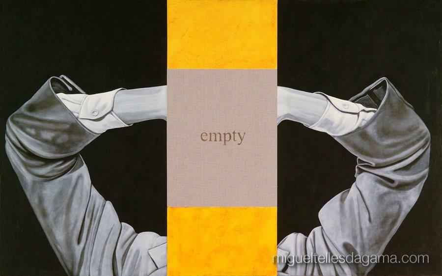 E.R. 2007 - Emtpy, Acírilico e verniz sobre tela (100 x 160 cm)