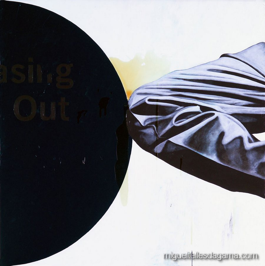 E.R. 2007 - Sem título, Acírilico e verniz sobre tela (100 x 100 cm)