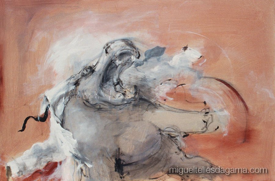 Id, 1992 - Sem título, Acrílico sobre tela (122,5 x 177 cm)