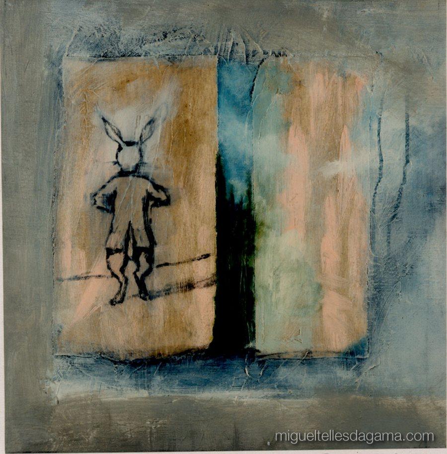 1995 - Sem título, Acrílico sobre tela (50 x 45 cm)