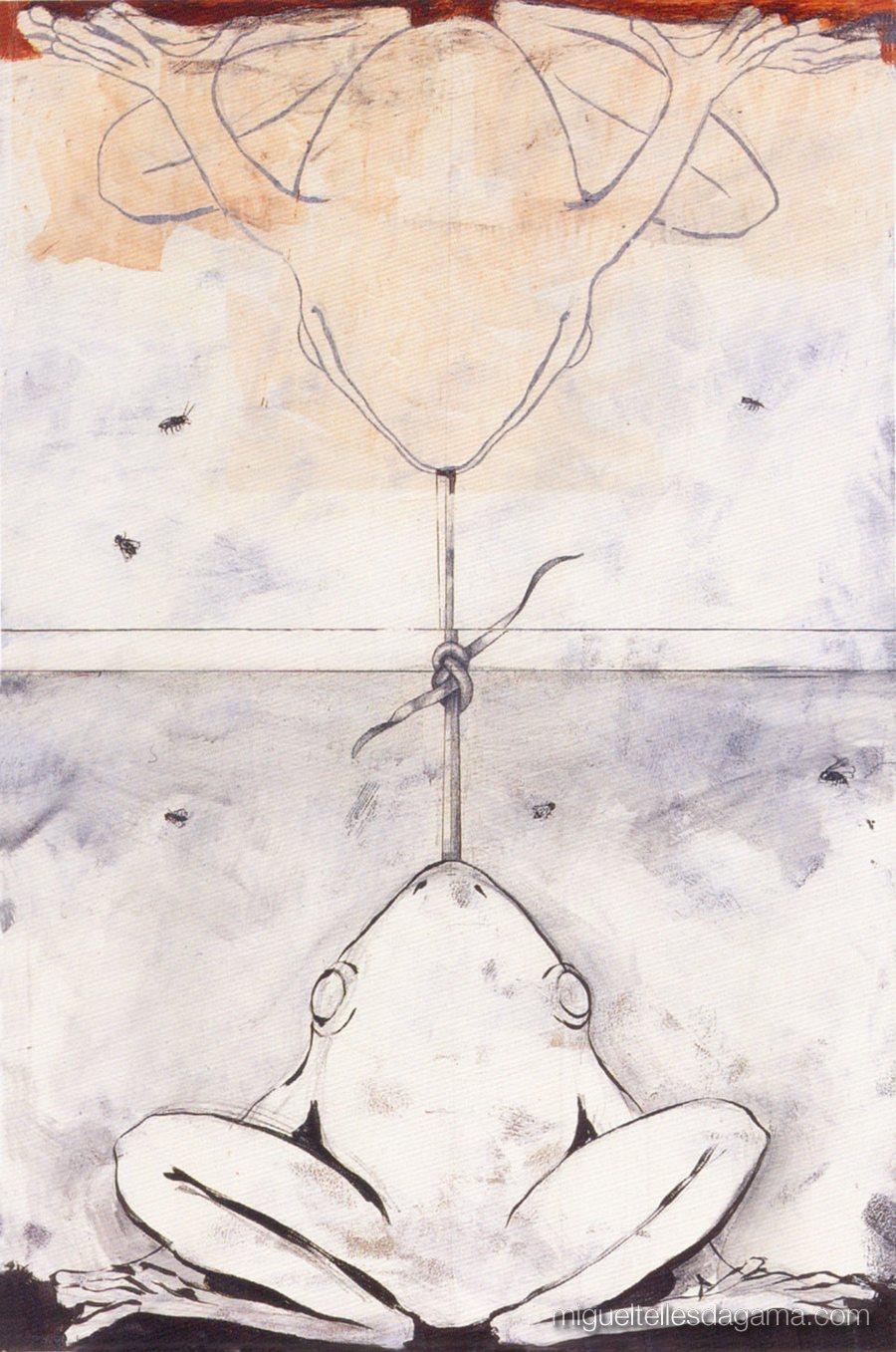 Galeria 111, 1997 - Sem título, Acrílico sobre tela (139 x 92 cm)