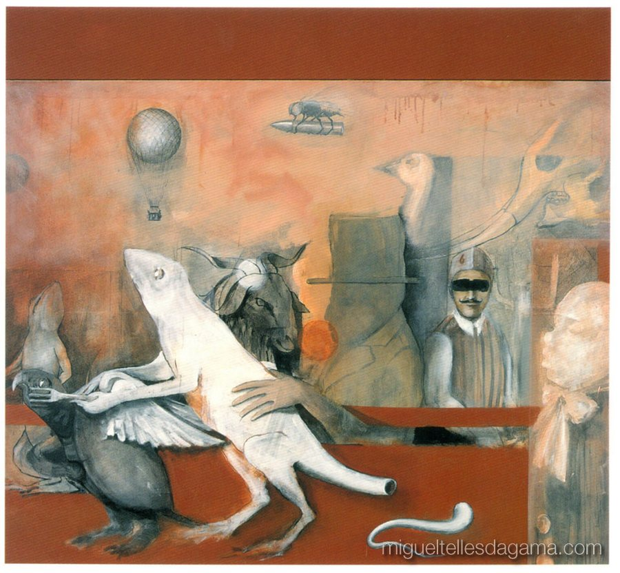 Galeria 111, 1997 - Sem título, Acrílico sobre tela (154 x 165 cm)